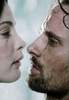 Arwen and Aragorn   The Lord of the Rings - The Two Towers