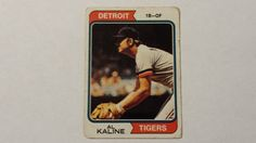 1974 Topps Al Kaline single baseball card