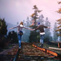 Life is Strange Max and Chloe <3