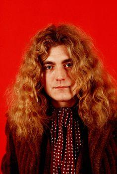 Robert Plant, 1971, by Wolfgang Heilemann