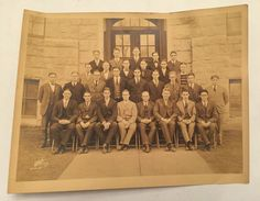 Vintage 1927 Photo From Yale? Staff Faculty University College Pic Vassar?  | eBay