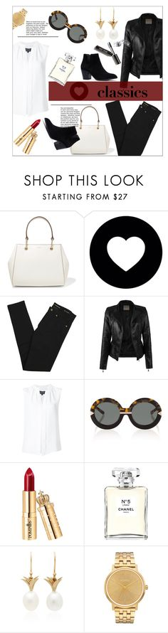 """Tried and True: Wardrobe Staples"" by moody-board ❤ liked on Polyvore featuring DKNY, storets, Yves Saint Laurent, Derek Lam, Karen Walker, Chanel, Annette Ferdinandsen, Nixon, Bobbi Brown Cosmetics and WardrobeStaples"