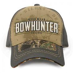 Buck Wear Bowhunter Est. 1992 Realtree Camo Hunting Hat Bow Hunter 15fe25db3fb