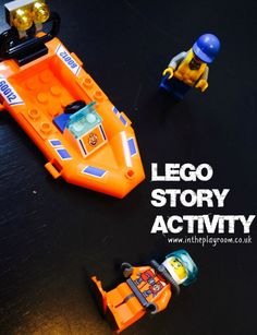 simple Lego story activity, and more fun Lego play ideas