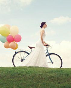Nothing but blue skies           (Jan Logan Weddings - collection inspiration)