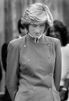 """Diana.She always had that """"looking through her fringe"""" thing going on."""