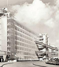 Brinkman & Van der Vlugt, Koffie-, Thee-, en Tabaksfabriek Van Nelle, Rotterdam, 1925-1931