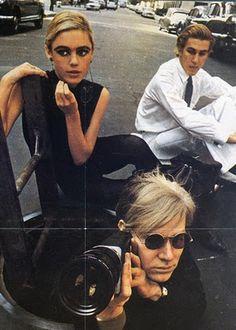Edie Sedgwick & Andy Warhol...