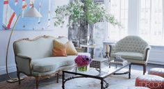Candace Bushnell Apartment - Interview With Candace Bushnell - ELLE DECOR