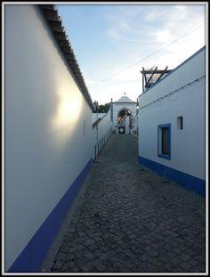 Cemitério da aldeia da Cacela Velha (Algarve/Portugal)