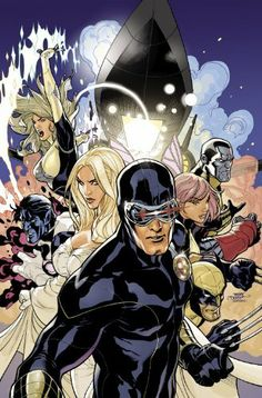 Uncanny X-Men 505 Cover featuring my first full team shot. This was originally drawn for the cover of 504 until I came up with a better idea for that an. Uncanny X-Men 505 Cover Final Comic Book Artists, Comic Artist, Comic Books Art, Marvel Comics, Marvel E Dc, Marvel Universe, Universe Art, X Men, Thor