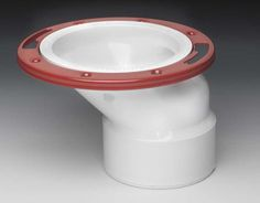 Off angle toilet flange