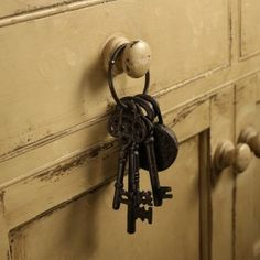 Classic Key Bunch - downton abbey at home