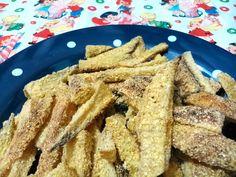 """Aprenda a fazer as famosas """"batatas-fritas"""" da Bela Gil. Além da saudável, deliciosa!  Receita completa no Gordelícias >> http://gordelicias.biz."""