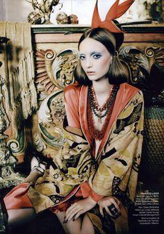 Vogue Australia Editorial April 2011 - Codie Young by Nicole Bentley