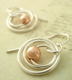 My Three Hoops Petite Earrings Sterling Silver by unkamengifts