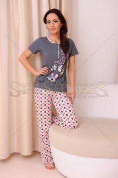 Pijama Good Night Grey