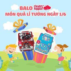 Balo là món quà lý tưởng dành cho bé ngày 01.06 này Facebook, Movie Posters, Design, Film Poster, Billboard, Film Posters