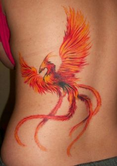 Phoenix is a mystical bird that has different meanings in different cultures. This colorful fiery bird is perhaps one of the most beautiful tattoo designs – it represents rebirth, immortality, grace and virtue. It is, in fact, one of the oldest symbols in the world, and as a tattoo, it can be worn by both men and women. But let's take a look at some of the most important phoenix tattoo meanings.