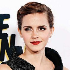 Emma Watson's wonderful look for a #TheBlingRing film event.