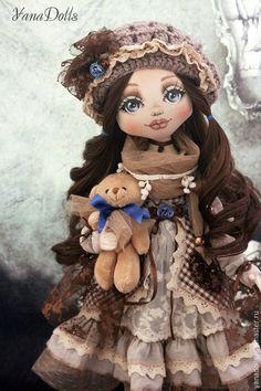 Коллекционные куклы ручной работы. Vanessa. YanaDolls. Ярмарка Мастеров. Кукла интерьерная, бохо-шик, трессы