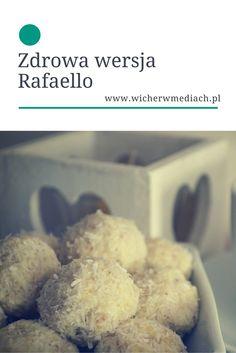 Przepis na zdrową wersję Rafaello