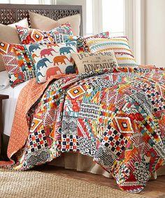 Loving this Karia Quilt Set on #zulily! #zulilyfinds
