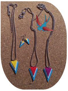 Hoy empieza la primavera y los complementos se llenan de colores. Visita la página de Nanuk Accessoris. #collar #collares #pendientes #colores #nanuk #new #complementos #primavera #bisuteriaartesana #hechoamano #tendencias