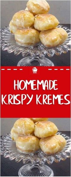 Krispy Kreme Recipe: Light and fluffy topped with a rich glaze that will melt in. Kuchen , Krispy Kreme Recipe: Light and fluffy topped with a rich glaze that will melt in. Krispy Kreme Recipe: Light and fluffy topped with a rich glaze tha. Breakfast And Brunch, Breakfast Recipes, Delicious Desserts, Yummy Food, Tasty, Delicious Donuts, Cake Recipes, Dessert Recipes, Desert Recipes