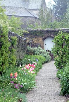 Buckland Abbey - Walled Garden Devon, Uk Foto: Sabina on Home Inteior Ideas 6737 Visit Devon, Devon Uk, English Country Gardens, Exterior, Walled Garden, My Secret Garden, Garden Gates, Dream Garden, Garden Inspiration
