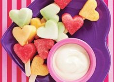 healty Vday heart fruit kabobs dessert