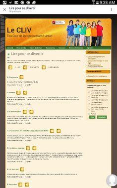Site Lire pour se divertir. Télécharger des textes et les écouter ! https://cliv.csdessommets.qc.ca/index.php/lire-pour-se-divertir