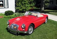 Red MG Car by Eridony, via Flickr