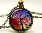 Tree Of Life Pendant, Woodland Jewelry (0630B1IN)