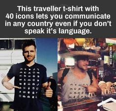 Travel Discover bucket list funny Traveller Shirt allows you to communicate in any country even if you dont speak the language Travel Shirts Just Dream Wtf Fun Facts Fascinating Facts Looks Cool Good To Know Places To Travel Just In Case Things I Want Oh The Places You'll Go, Places To Travel, Travel Shirts, Just Dream, Wtf Fun Facts, Fascinating Facts, Looks Cool, Good To Know, Just In Case