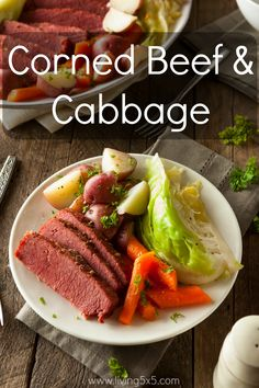 Get the best St. Patrick's Day Recipe: Corned Beef & Cabbage.