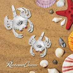 This little beach friend won't leave you feeling crabby but put you in a charming mood! #Charms #BeachFun #SummerFashion