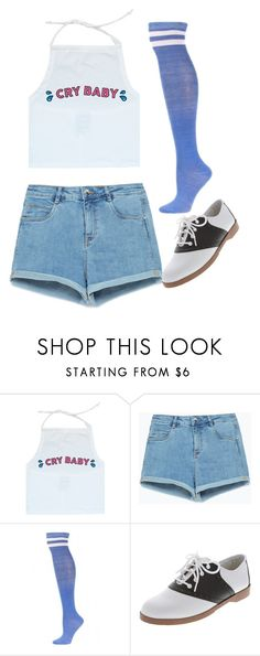 """They Call Me Cry Baby"" by doe-eyed-nymphet ❤ liked on Polyvore featuring Zara, nymphet and nymphetfashion"