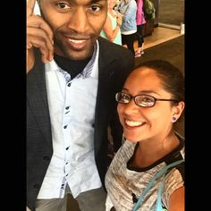 Throwback to the time I got a selfie with Metta World Peace (a.k.a. Ron Artest)  looked like crap but I couldn't let that slide  #tbt #throwbackthursday #afterdisney #indianapolisinternationalairport #selfie #hestillhadtobenddown #imnotthatshort #ind #formerpacer #formerlaker #bleedpurpleandgold #ronartest #mettaworldpeace