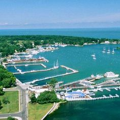 Put-in-Bay, Ohio: A storybook family getaway is just a ferry ride away from northwest Ohio's Lake Erie shoreline. Family attractions fill the island, including museums, cave tours, fishing charters and a 1917 carousel. For the best area view, climb the 352-foot Perry's Victory & International Peace Memorial, a white column commemorating a U.S. victory in the War of 1812.