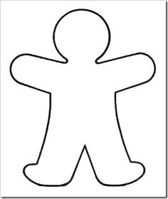 Here you find the best free Kid Body Outline Clipart collection. You can use these free Kid Body Outline Clipart for your websites, documents or presentations. Mummy Crafts, Halloween Crafts For Toddlers, Toddler Crafts, Person Template, Body Template, Body Preschool, Preschool Crafts, Preschool Alphabet, Theme Halloween
