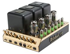 McIntosh Laboratory MC275 50th Anniversary Limited Edition power amplifier | Stereophile.com
