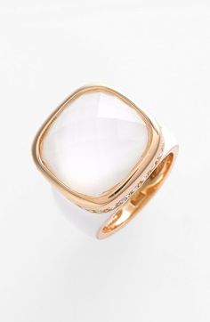 Ariella Collection Square Stone Ring (Nordstrom Exclusive) available at #Nordstrom