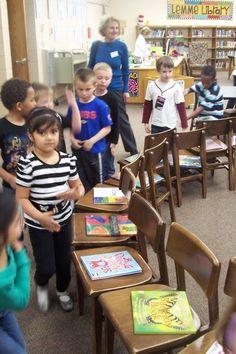 The Book Butcher: Children's Book Week: Kindergarten Style