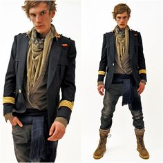 Balmain styling - I want to dress this way for a party or something cool!