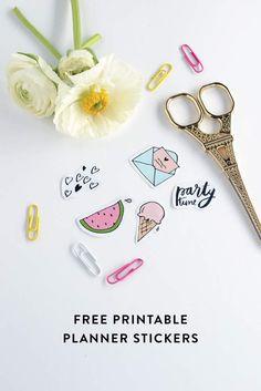 Free planner printable stickers diy