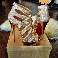 Louboutin sparkly