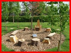 """The """"campfire"""" style of environment could be effective in the outdoor classrooms. Everyone can share ideas in a circular environment and feels more inclusive"""
