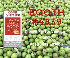 Visit @omedoil and @aceitunaslosada at #WFFS16
