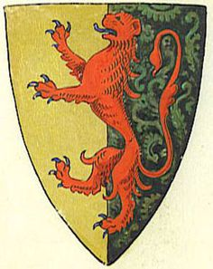William Marshall my 26th GGF (or William the Marshall) coat of arms. Character in Vampire Outlaw.